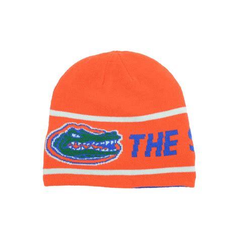 florida gators knit hat nike florida gators motto reversible knit hat in orange