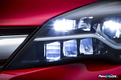 Lu Led Motor Di Otista opel intellilux led reportmotori it