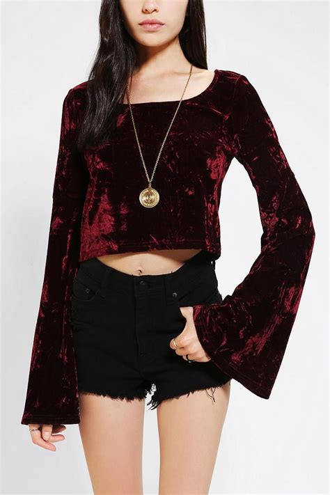 Wst 18768 Embroidered Bell Sleeve discover and save creative ideas