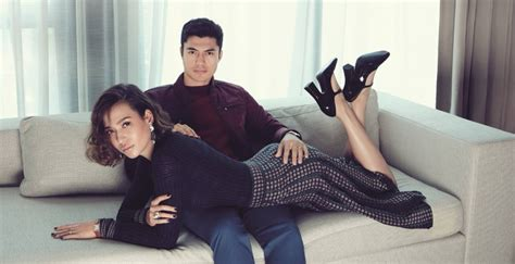 liv lo istri henry golding henry golding and liv lo on hollywood and going the