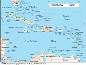 Caribbeans Map by Barbados Spring Break 2017 Destinations Break Now
