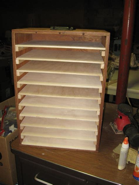 puzzle board storage box    size homemade