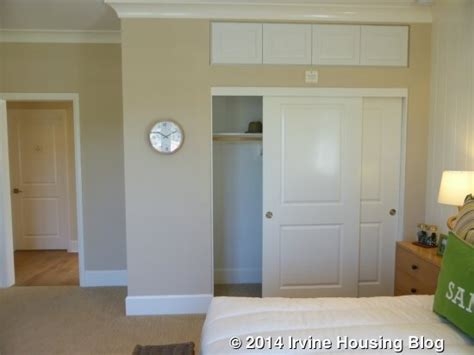 Above Closet Storage by A Review Of The Strada Tract At Orchard Irvine