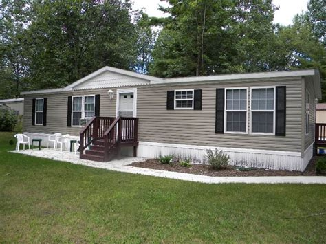 Wide Mobile Home by Mobile Home Exterior Paint Before And After Pics