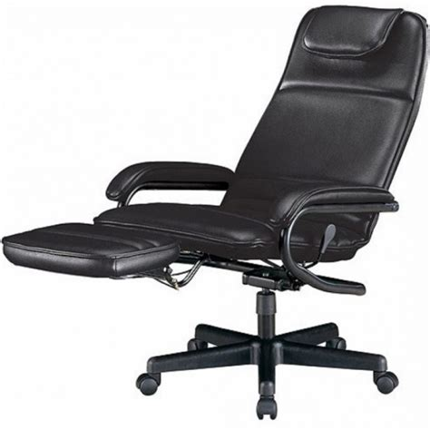 Reclining Office Chairs With Footrest by Executive Reclining Office Chair With Footrest Ergonomic