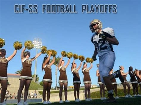 cif central section soccer playoffs cif ss football playoffs division 6 bracket completed