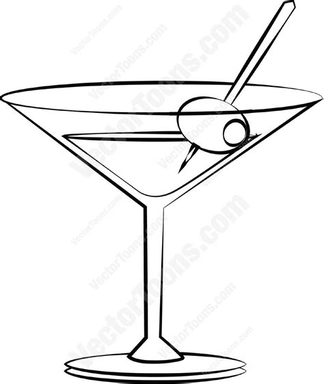 pink martini drawing pink martini glass drawing pixshark com images