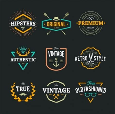 design a hipster logo vintage logo vectors photos and psd files free download