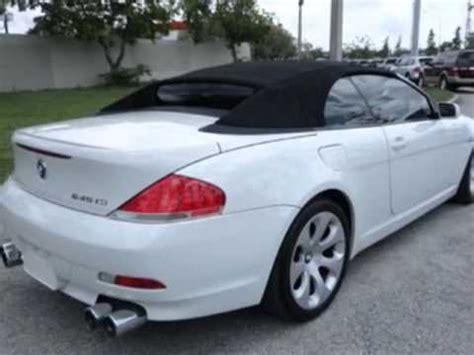 bmw  series ci convertible miramar fl youtube