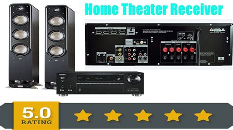 best home theater receiver reviews 2017 best av receiver