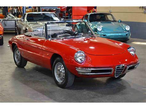 1967 alfa romeo for sale 1967 alfa romeo duetto 1600 spider for sale classiccars