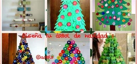 arboles de navidad infantiles ideas de adornos caseros