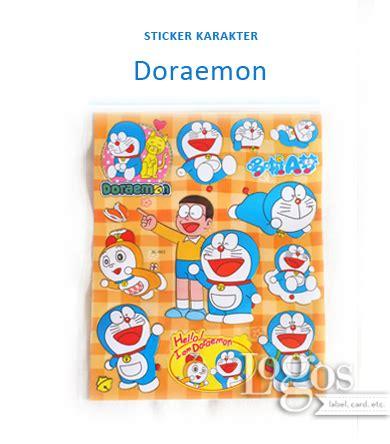 jual sticker karakter doraemon nobita stiker hadiah anak gift reward bday logos
