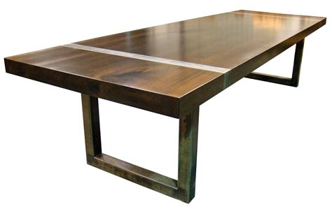 devos custom woodworking custom wood tables with metal bases