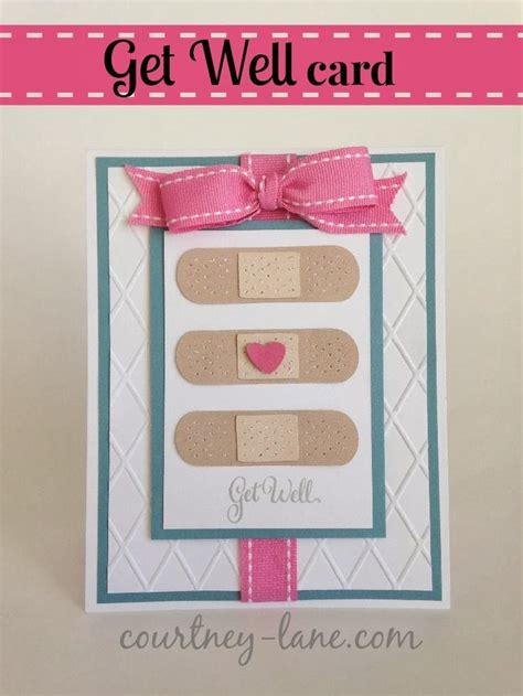how to make a get well soon pop up card designs get well band aid card get well