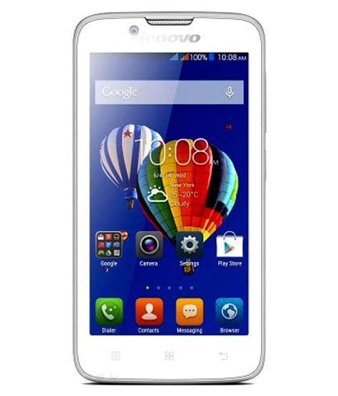 Lenovo A328 Quadcore 4gb Hitam by Lenovo A328 4gb White Price In India Buy Lenovo A328