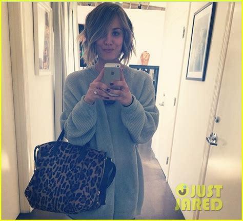 haley cuco cuts off hair in 2014 kaley cuoco cuts her hair short debuts blonder bob hairdo