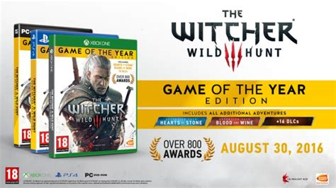 the witcher 3 hunt of the year edition unofficial walk through a s k hacks cheats all collectibles all mission walkthrough step by step ultimate premium strategies volume 8 books release date announced for the witcher 3 hunt goty
