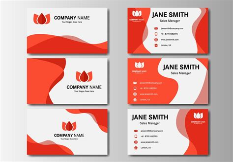 names for card business free business name card vector free vector