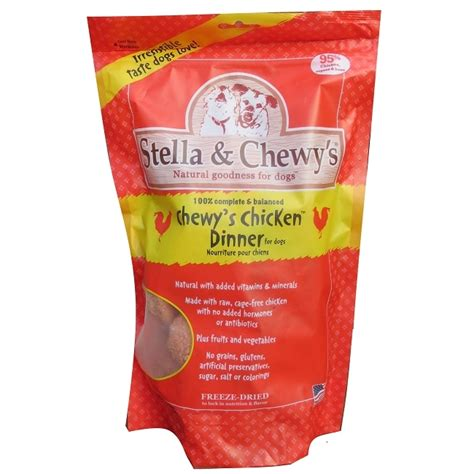 chewys food stella chewys chewys chicken dinner freeze dried food naturalpetwarehouse