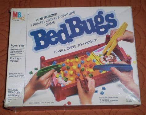 bed bugs game 1985 bed bugs game by milton bradley vintage board games