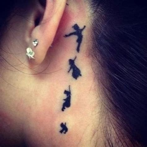 peter pan ear tattoo the ear pan tattoos
