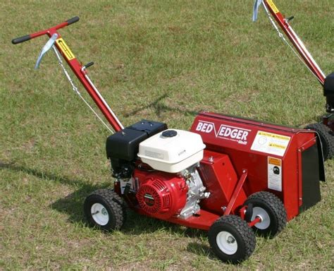 brown f 791h9 0 bededger w honda gx 9 hp engine steerable landscape bed edger ebay