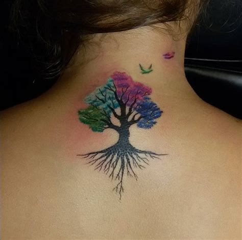women tattoo amazing tree tattoo ink youqueen girly