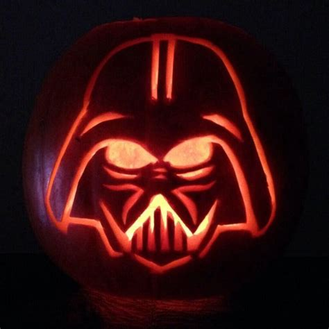25 best ideas about darth vader pumpkin on pinterest