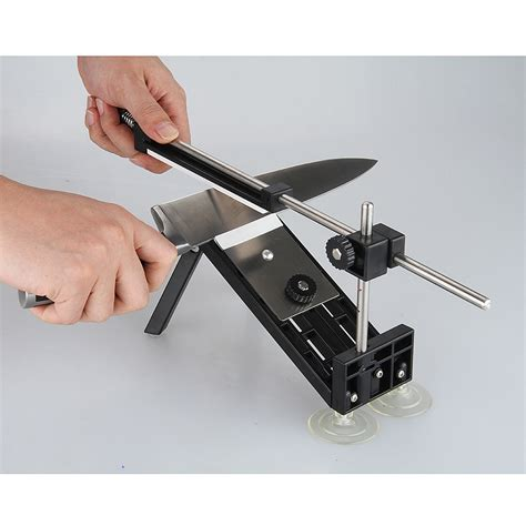 sharpening angle for kitchen knives kitchen knife sharpener sharpening whetstone fix fixed angle with 4 stones ebay