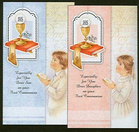 Holy Communion Cards And Gifts - communion son catholic first holy communion card first holy communion day