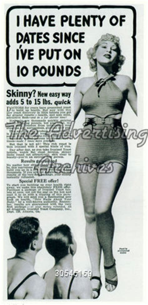 Magazine Gain Weight by The Advertising Archives Magazine Advert Weight Gain