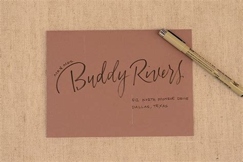 Pen Paper Kiky Envelope 329 best images about cool calligraphy on address envelopes fonts and modern