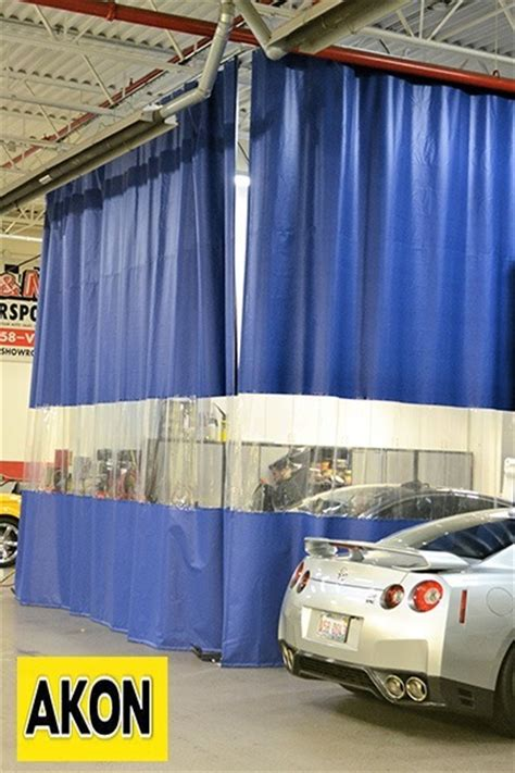 warehouse divider curtains heavy duty vinyl curtains akon curtain and dividers