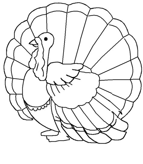 printable turkey to color free printable turkey coloring pages for kids