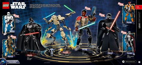 wars 7 figures lego wars 2016 les nouveaux sets wars 7 les