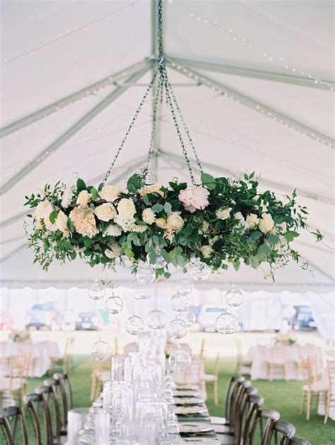 chandelier flowers 29 gorgeous wedding floral chandeliers that will your