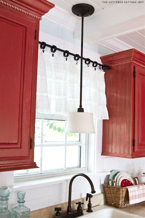 diy kitchen curtain ideas creative kitchen window treatment ideas hative