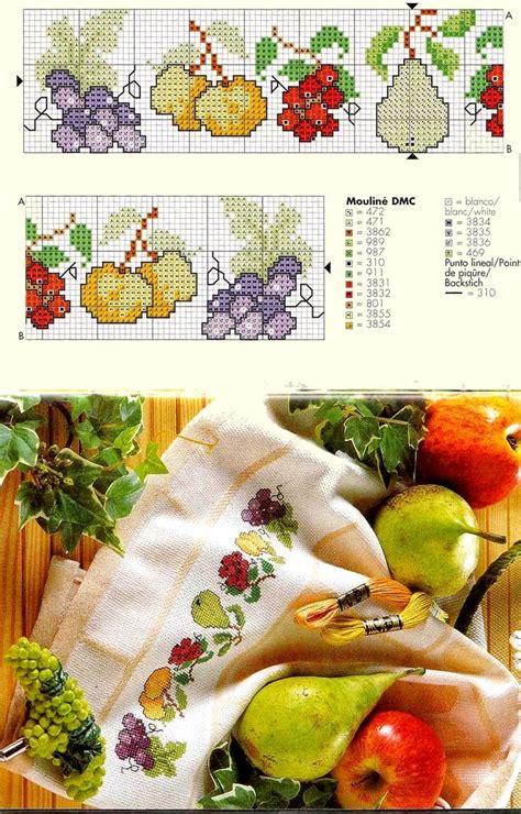 disegni a punto croce per cucina oltre 25 fantastiche idee su punto croce su