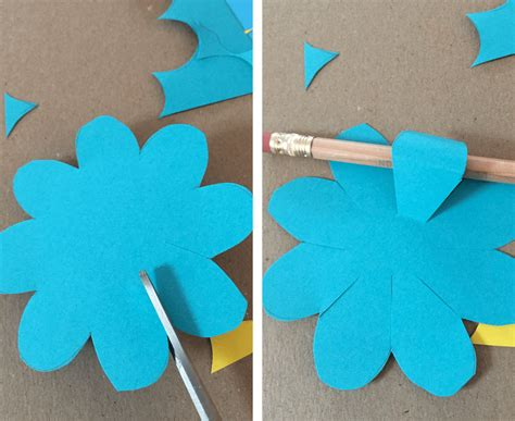 How To Make Paper Flowers Out Of Construction Paper - april showers bring may s paper flowers tinselbox