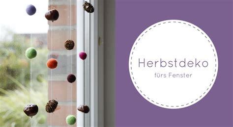 Herbstdeko Fenster by Herbstdeko Fenster Lavendelblog