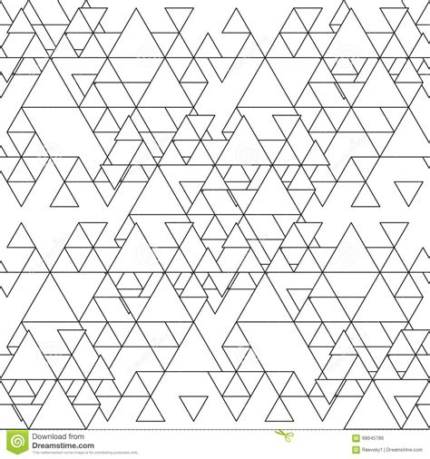 black triangle pattern vector triangular seamless vector pattern abstract black
