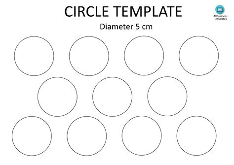 7 inch diameter circle template free circle template a4 5cm templates at