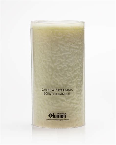 candela della candelora lumen candelora candela 10x20cm avorio vaniglia