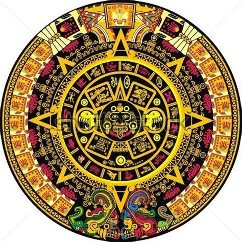 Calendario Azteca Original Cor De Calend 225 Asteca Clip Arts Clipartlogo