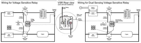 voltage sensitive relay module wiring diagram voltage