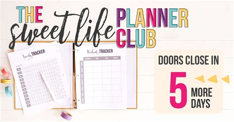 sweet life printable planner serenity edition printable calendar i heart planners