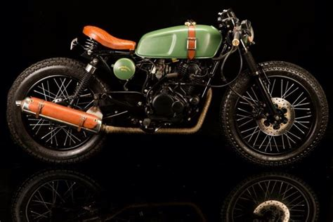 pulsar caf 233 racer o four by bombay custom works gets a new