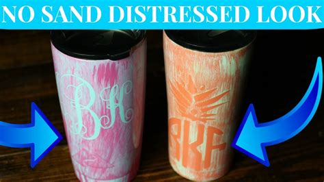 spray paint yeti cup diy how to spray paint faux distressed patina yeti cup