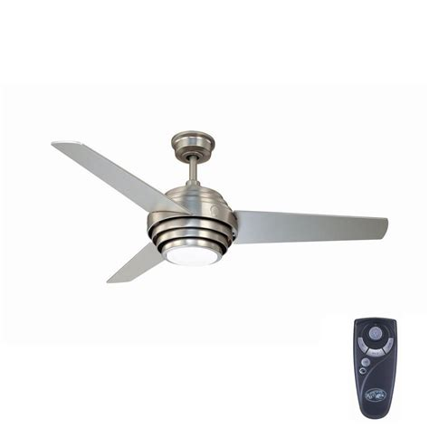 home depot fans with remote control hton bay vasner 52 in indoor colonial pewter ceiling